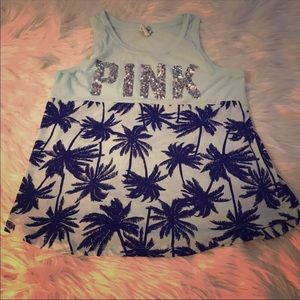 PINK VS Palm Trees Tank